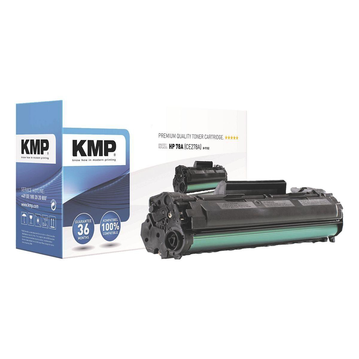 KMP Toner ersetzt HP »CE278A« 78A
