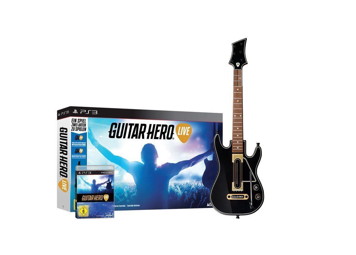 Activision Playstation 3 Spiel »Guitar Hero Live«