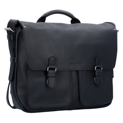 Harolds Ivy Messenger Briefcase Leather 43 Cm Laptop Compartment