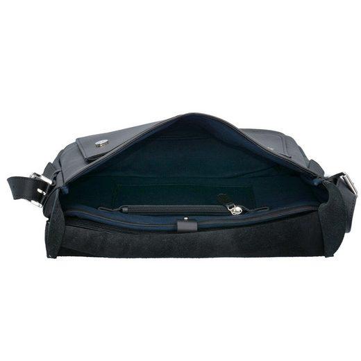 Harold's Ivy Kurier Messenger Tasche Leder 38 cm Laptopfach