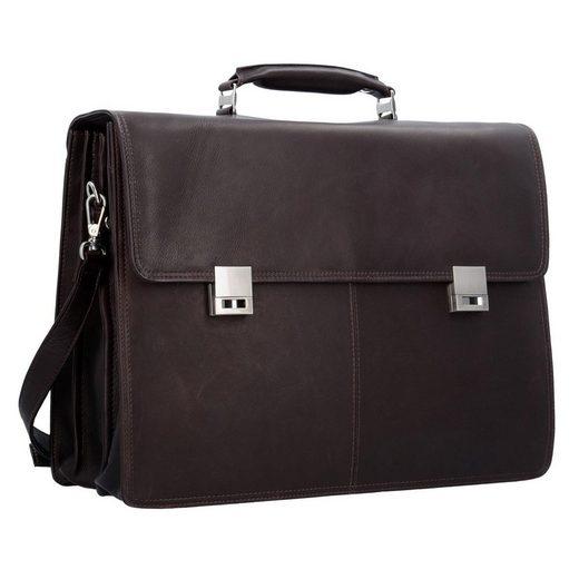 Cm Aktentasche Leder Laptopfach 41 Ii Country Harold's UqwX4z