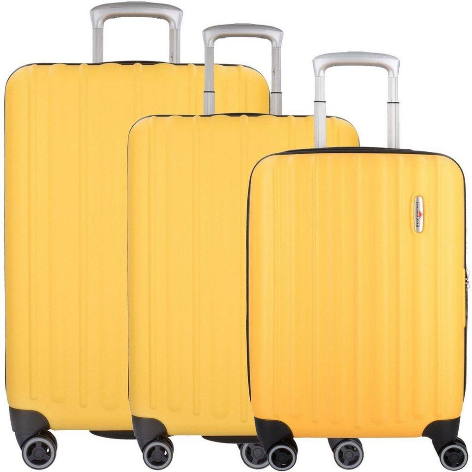 hardware profile plus 4 rollen trolley kofferset 3 tlg online kaufen otto. Black Bedroom Furniture Sets. Home Design Ideas