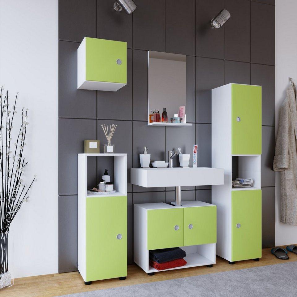 vcm 5 tlg badset intola l online kaufen otto. Black Bedroom Furniture Sets. Home Design Ideas