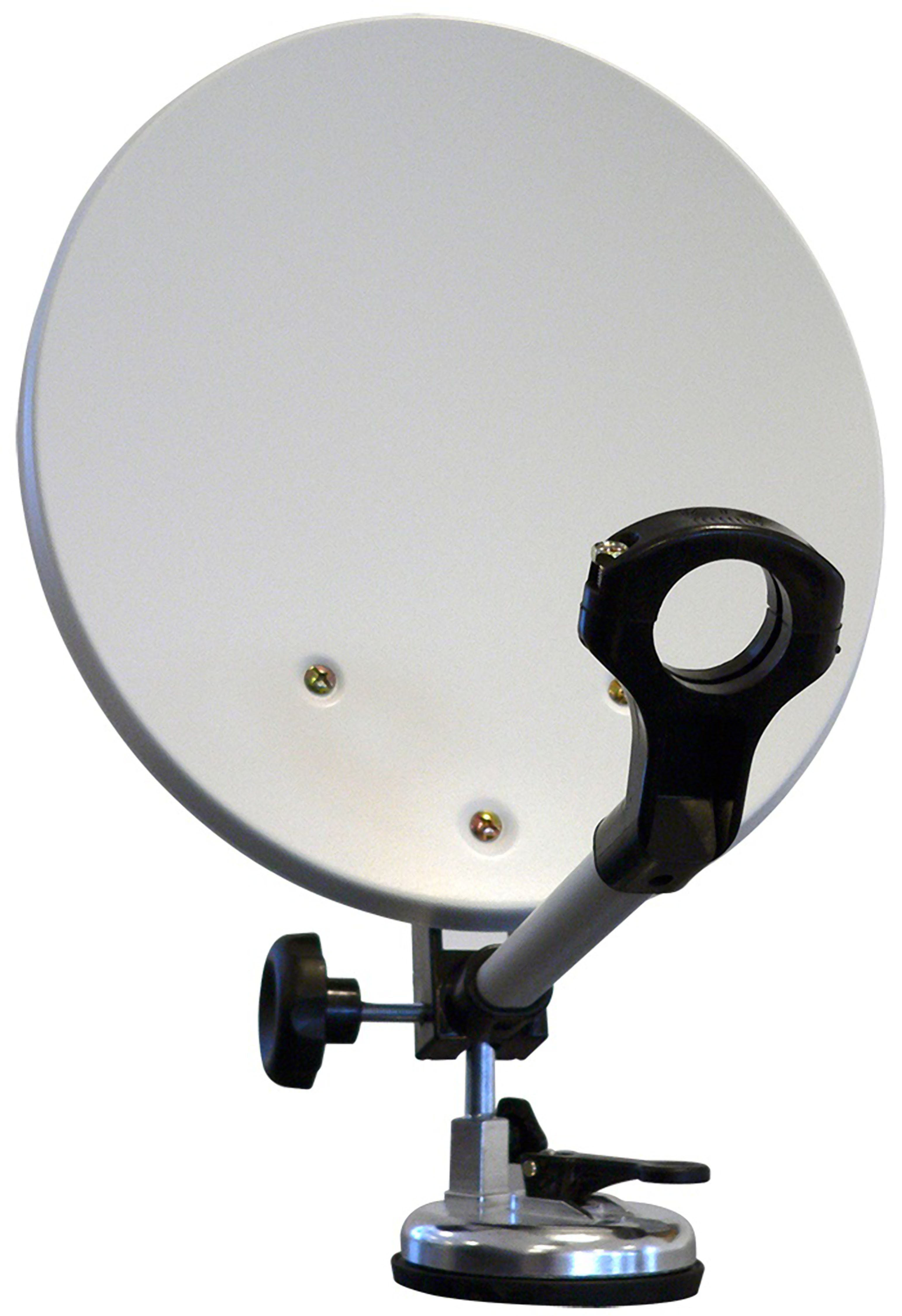 Maximum Tragbare, mobile Camping SAT-Anlage für DVB-S/S2 im Koffer »Camping Dish - 4232«