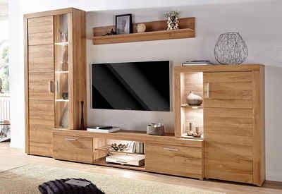 Wohnwand in weiß » Hochglanz & Matt kaufen | OTTO