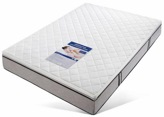 Topper »Komfort Plus«, Beco, 7 cm hoch, Raumgewicht: 28, Komfortschaum, die Aufwertung für ihre Matratze bekannt aus der TV-Werbung