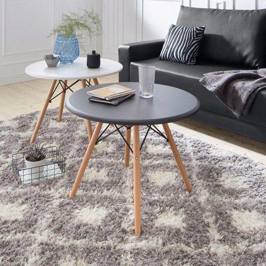 Home affaire Couchtisch, mit hochwertigem Massivholzgestell