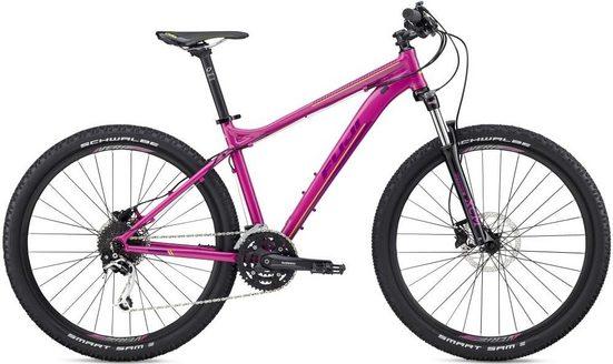 FUJI Bikes Mountainbike »Addy 1.3«, 27 Gang Shimano Deore XT Schaltwerk, Kettenschaltung