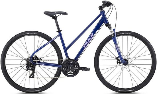 FUJI Bikes Trekkingrad »Traverse 1.9 ST«, 21 Gang Shimano Tourney Schaltwerk, Kettenschaltung