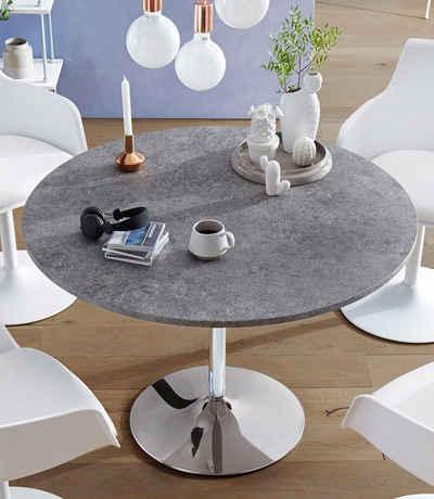 Runder Esstisch in weiß online kaufen   OTTO