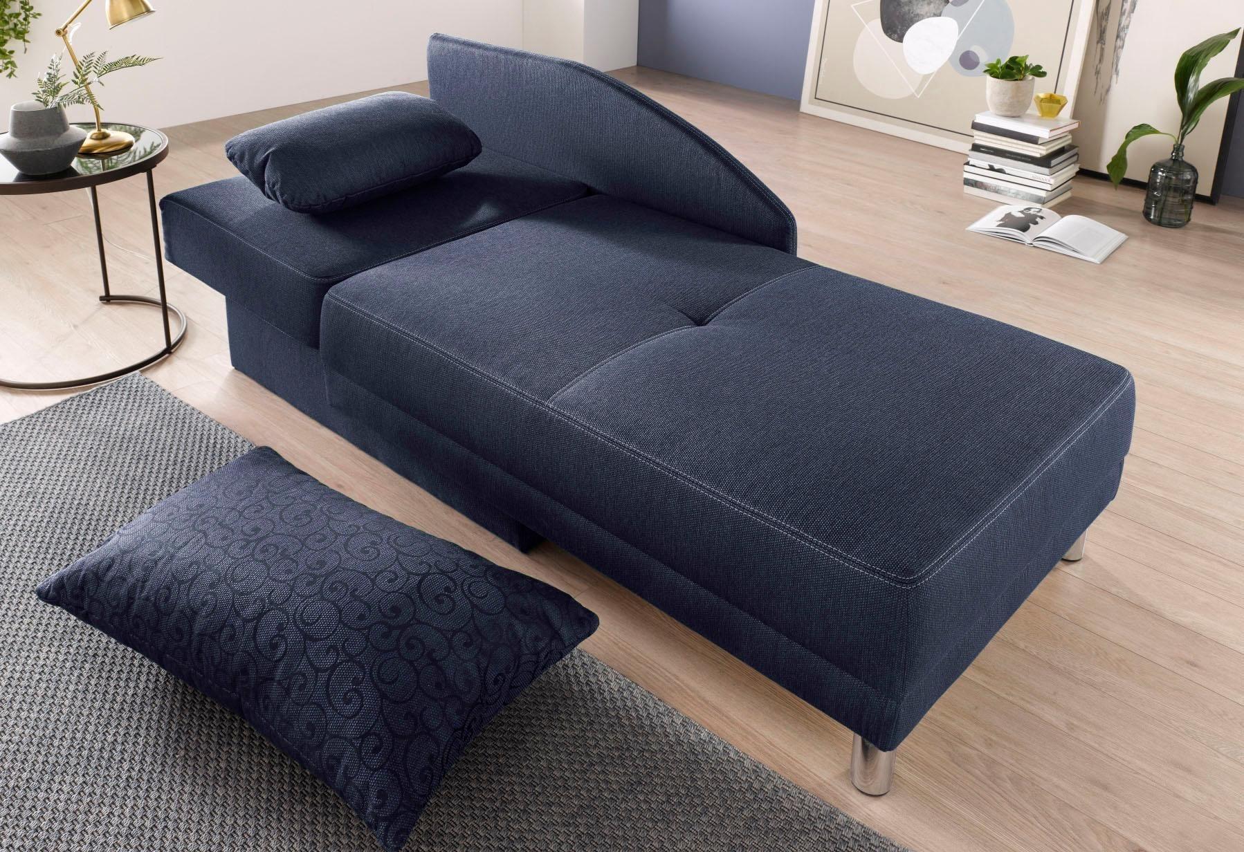 Recamiere mit Schlaffunktion und Bettkasten | Wohnzimmer > Sofas & Couches > Recamieren