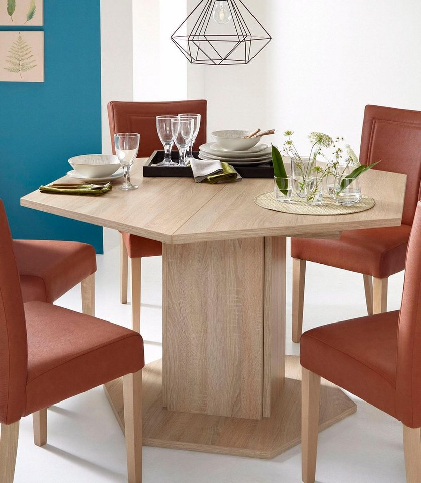 Säulen-Esstisch, Breite 121 cm online kaufen | OTTO