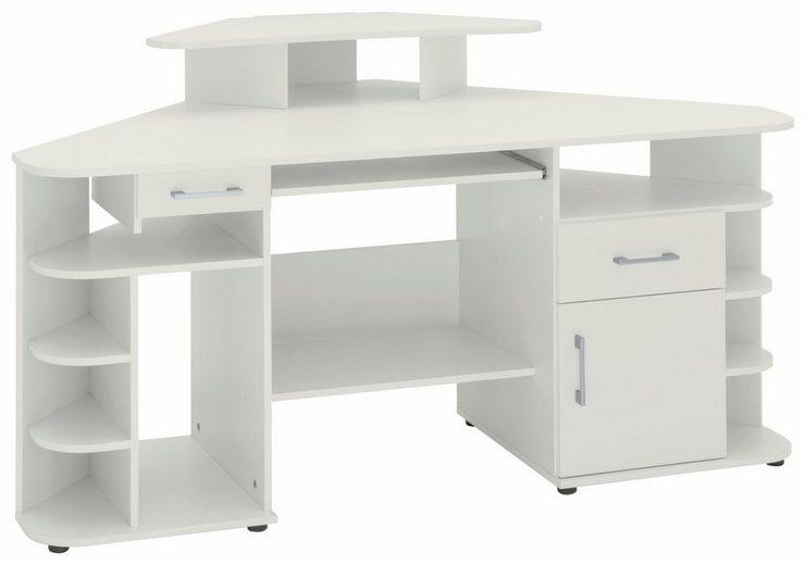 Eck-Schreibtisch »Flint« mit 2 Schubkästen