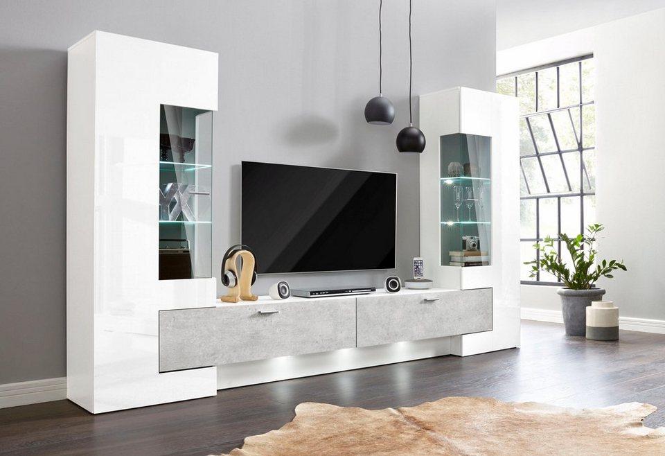 Wohnwand (3-tlg.) Online Kaufen