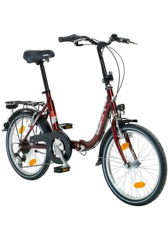 PERFORMANCE Sudedamas dviratis »Wien« 20 Zoll 6 Ga...