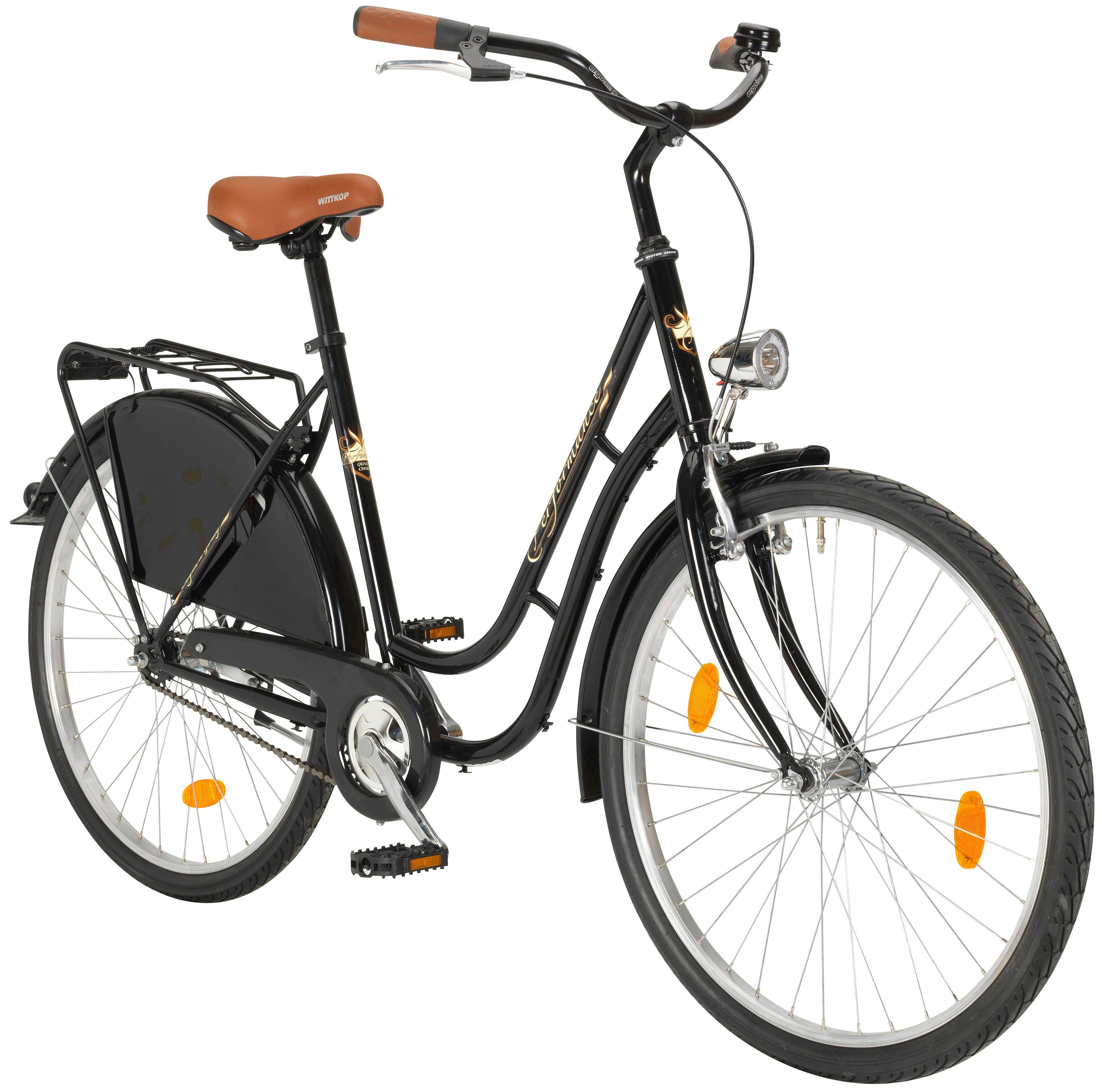 PERFORMANCE Citybike Damen »Groningen«, 26 Zoll, 1 Gang, Rücktrittbremse