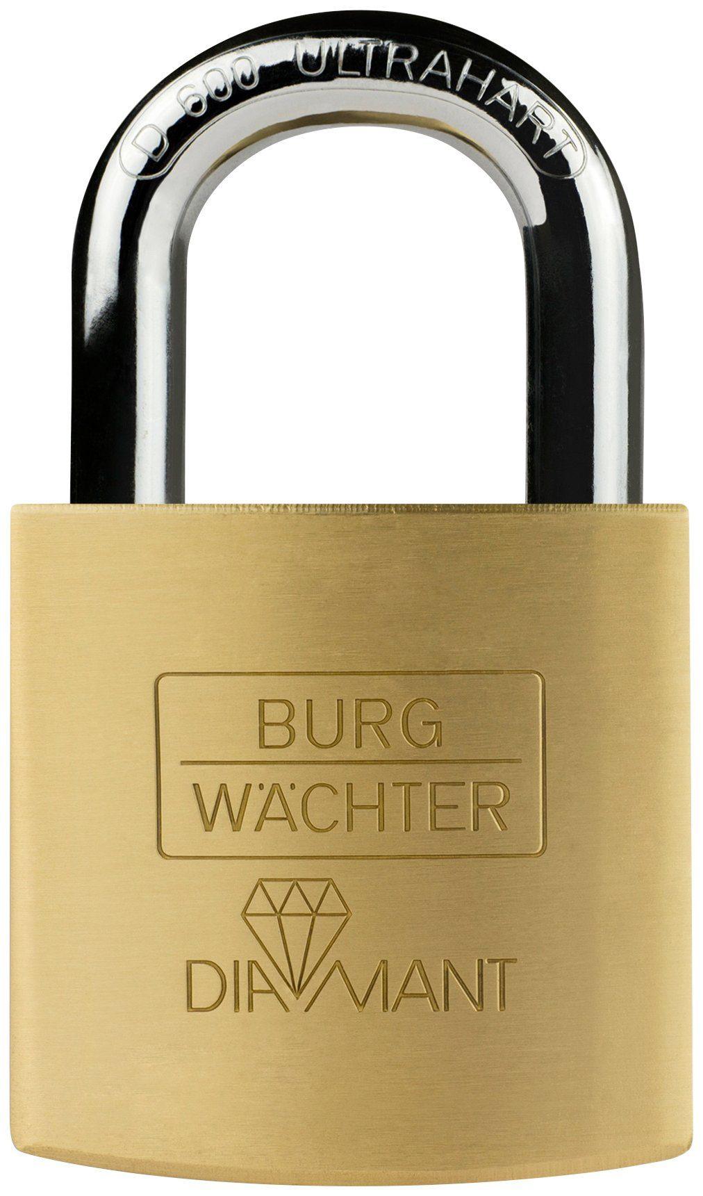 BURG WÄCHTER Zylinderschloss »Diamant D 600 40 SB«, Zylinder-Vorhangschloss