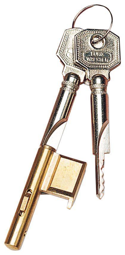 BURG WÄCHTER Türzusatzschloss »E 700/3 SB«, Zylinder-Schlüssellochsperrer