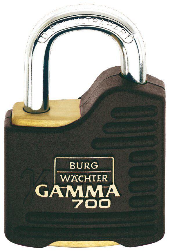BURG WÄCHTER Zylinderschloss »Gamma 700 55 SB«, Zylinder-Vorhangschloss