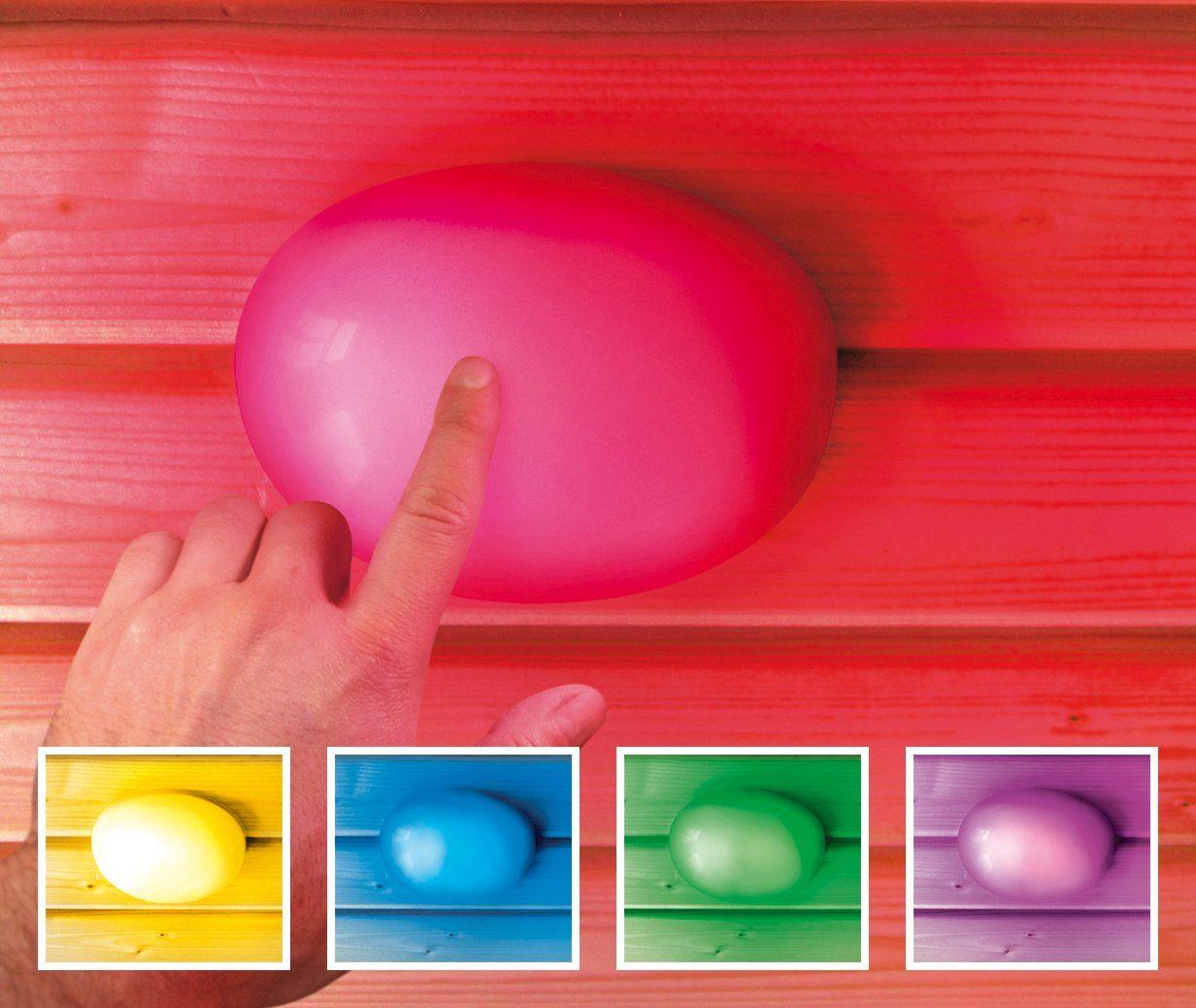 KARIBU Farblichtanwendung »Touch-Farblicht-Anwendung«, Ø/H: 14/3,5 cm