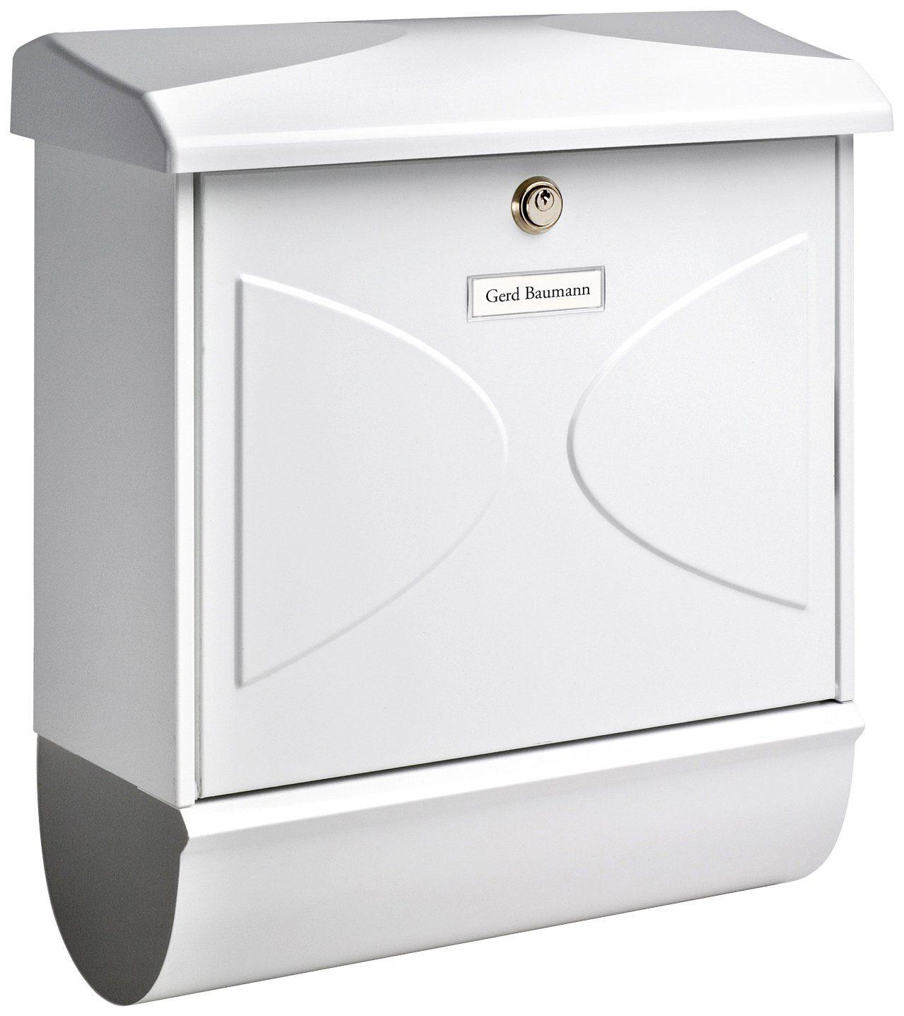 BURG WÄCHTER Briefkasten »Futura 92600 W«, Stahlblech-Briefkastenset
