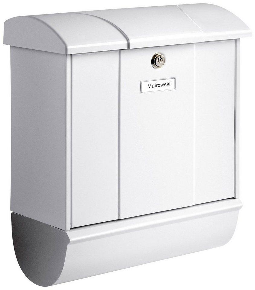 burg w chter briefkasten olymp 91600 w stahlblech briefkastenset online kaufen otto. Black Bedroom Furniture Sets. Home Design Ideas