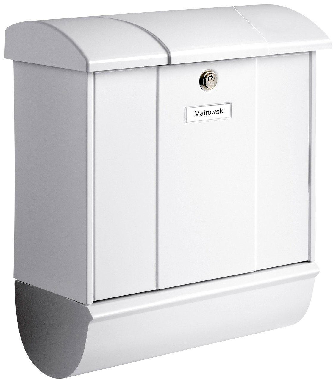 BURG WÄCHTER Briefkasten »Olymp 91600 W«, Stahlblech-Briefkastenset