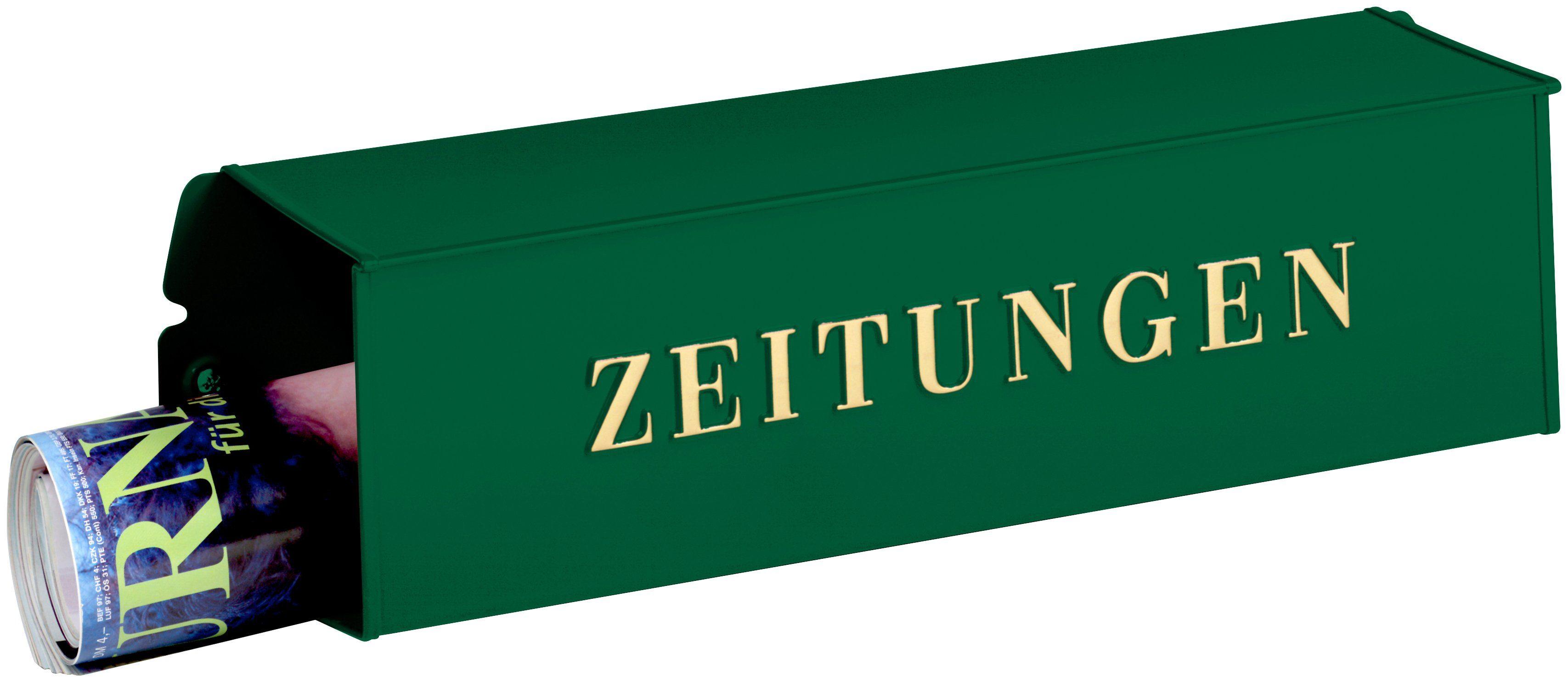 BURG WÄCHTER Briefkasten »808 GR«, Zeitungsbox