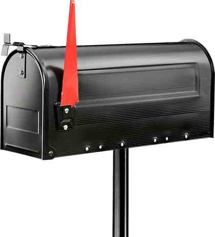 BURG WÄCHTER Briefkasten »893 S«, Pfosten für Mailbox 893 S