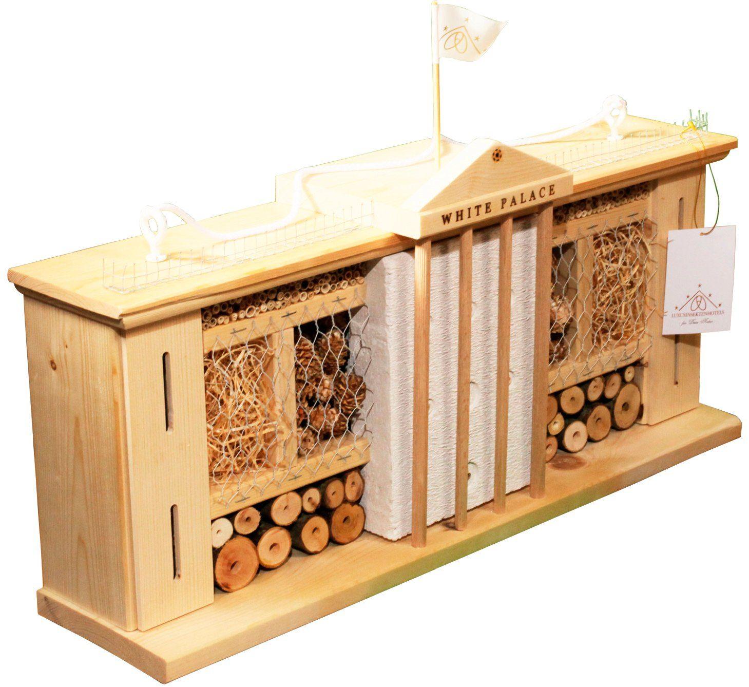 LUXUSINSEKTENHOTELS Insektenhotel »Weißer Palast«, BxTxH: 58x12x30 cm