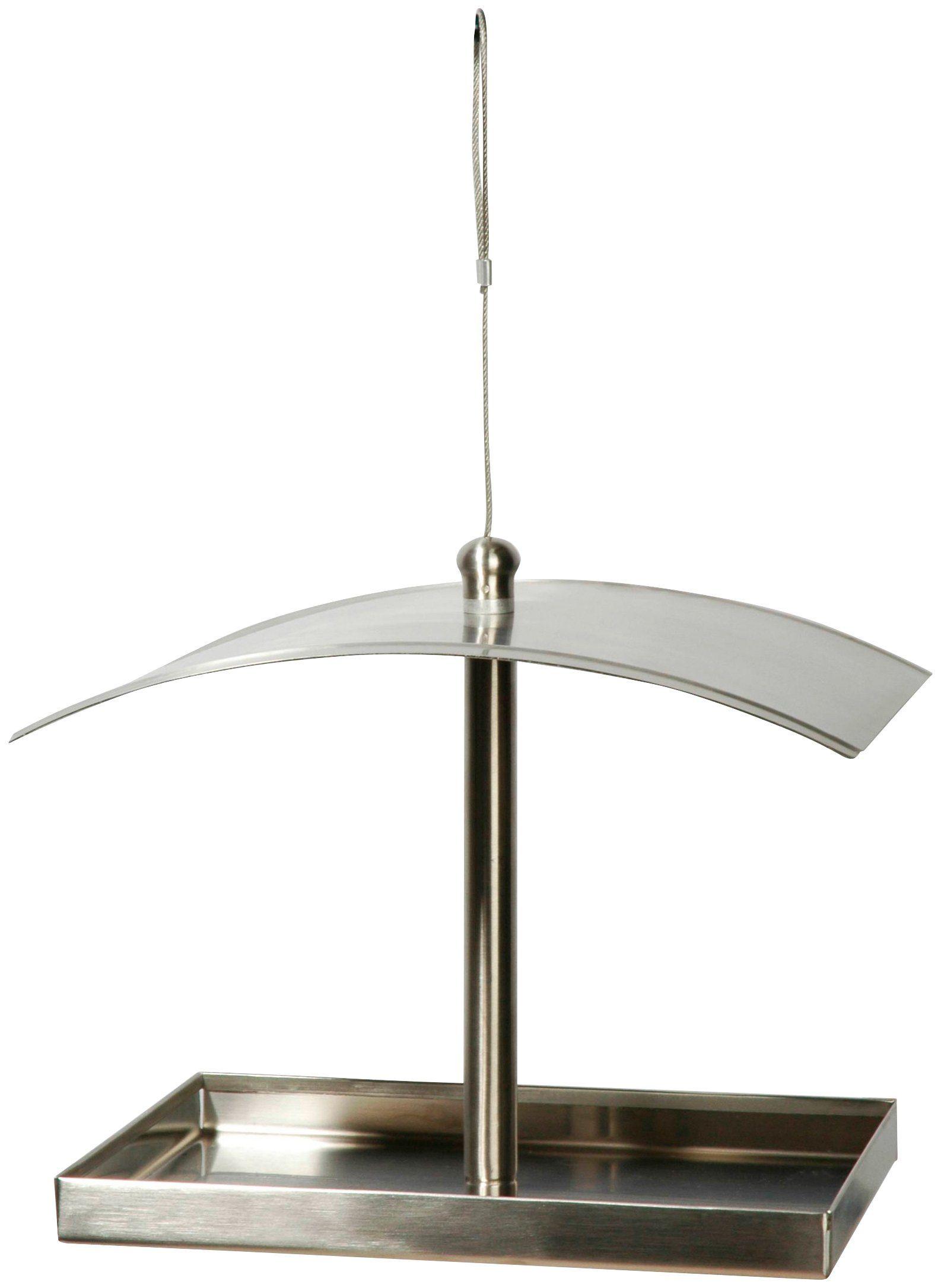 LUXUS-VOGELHAUS Vogelhaus »Metallglanz«, BxTxH: 24x17x20 cm