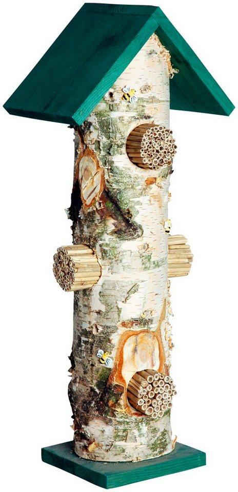 dobar insektenhotel birken tower bxtxh 55x22x14 cm online kaufen otto. Black Bedroom Furniture Sets. Home Design Ideas