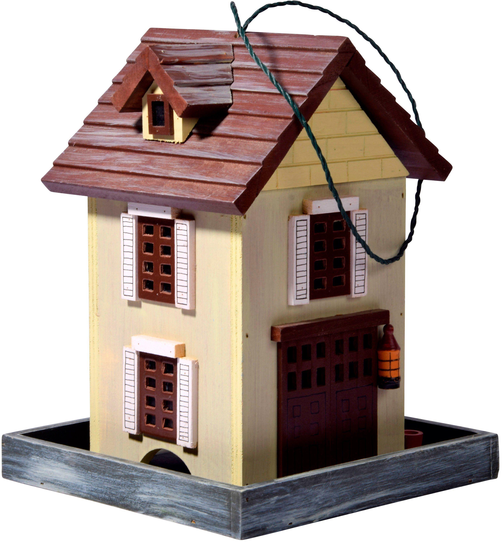 DOBAR Vogelhaus »Firestation«, BxTxH: 18x18x23 cm
