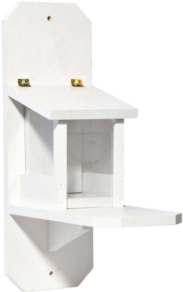 dobar futterhaus eichh rnchen bxtxh 16x23x22 cm mit gr n lackiertem dach online kaufen otto. Black Bedroom Furniture Sets. Home Design Ideas