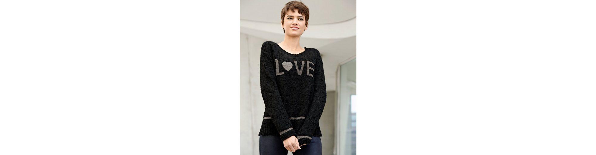 Amy Vermont Pullover mit Schriftzug 100% Authentisch Günstig Online Manchester Online Verkauf Verkauf Online oXqPEFTSgP