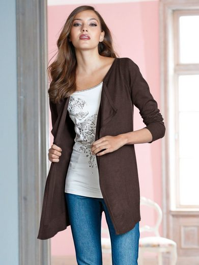 Amy Vermont Cardigan in offener Form