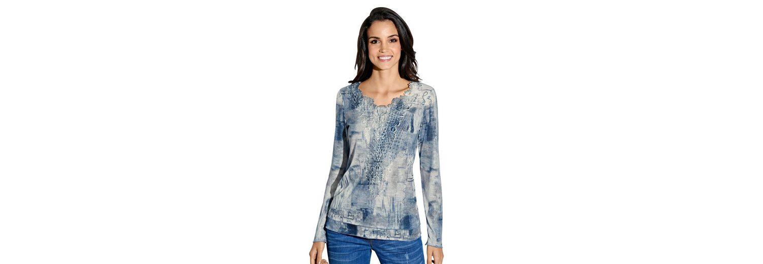 Amy Vermont Shirt allover bedruckt Besuch Spielraum Niedriger Preis Exklusive Online Günstiger Preis tE5UfG0k33