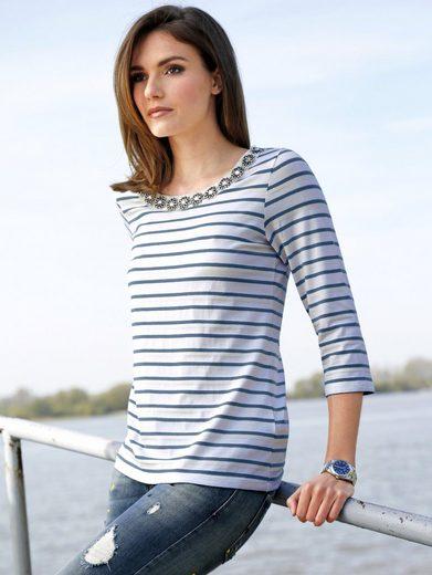 Amy Vermont Shirt im Streifendessin