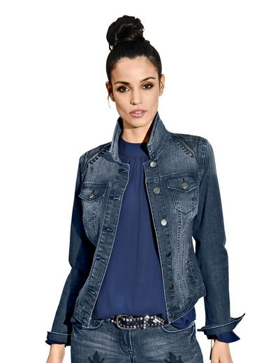 Amy Vermont Denim Jacket With Embroidery