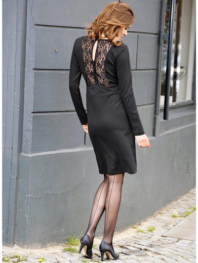 Amy Vermont Jerseykleid mit Spitzeneinsatz
