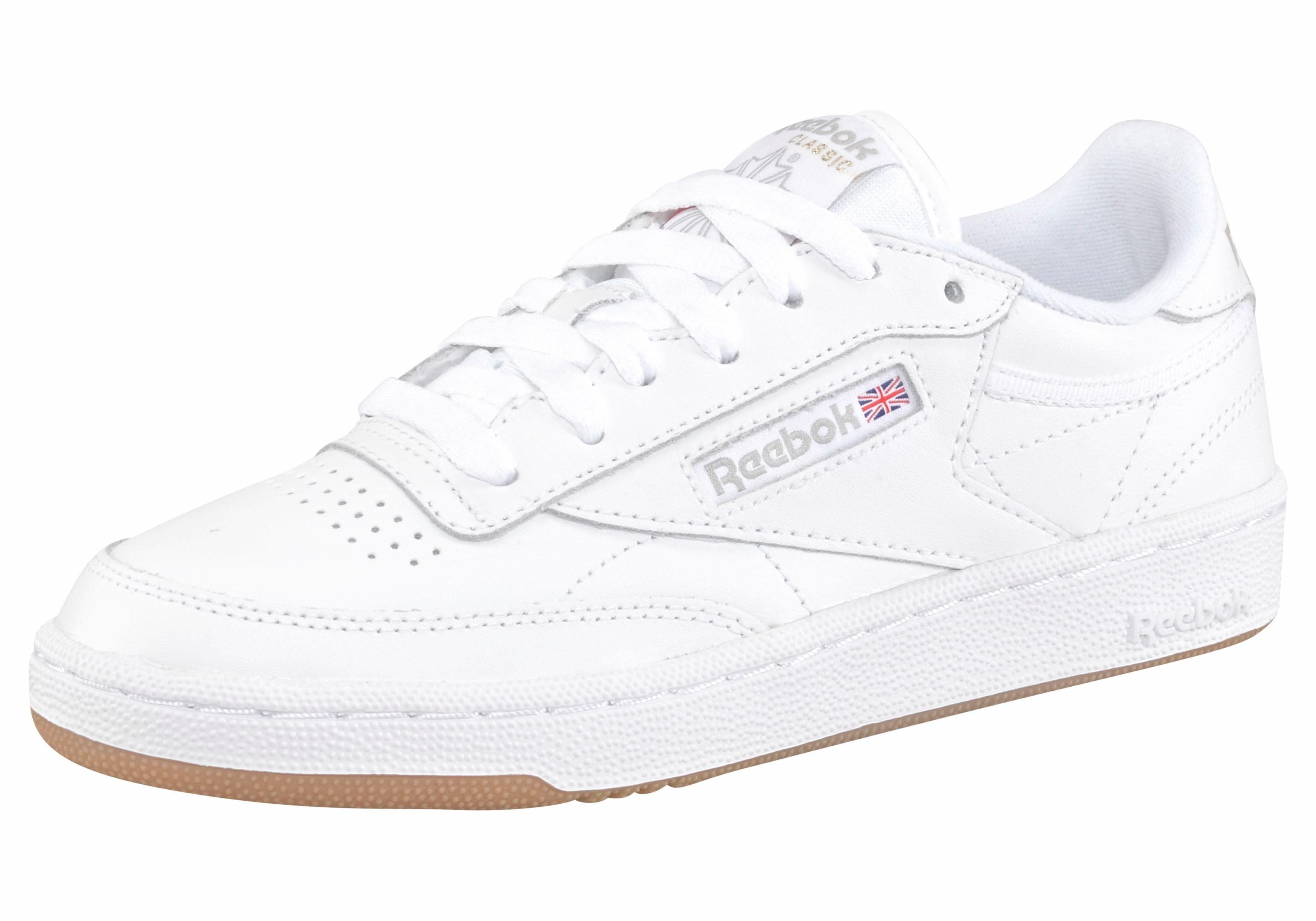 Reebok Classic »Club C 85 W« Sneaker, Stabile Gummilaufsohle online kaufen | OTTO
