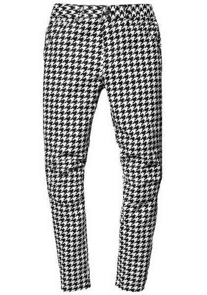 G-Star Boyfriend-Jeans »Elwood 5622 3D, mid boyfried COJ«, im coolen Hahnentritt Karo-Design