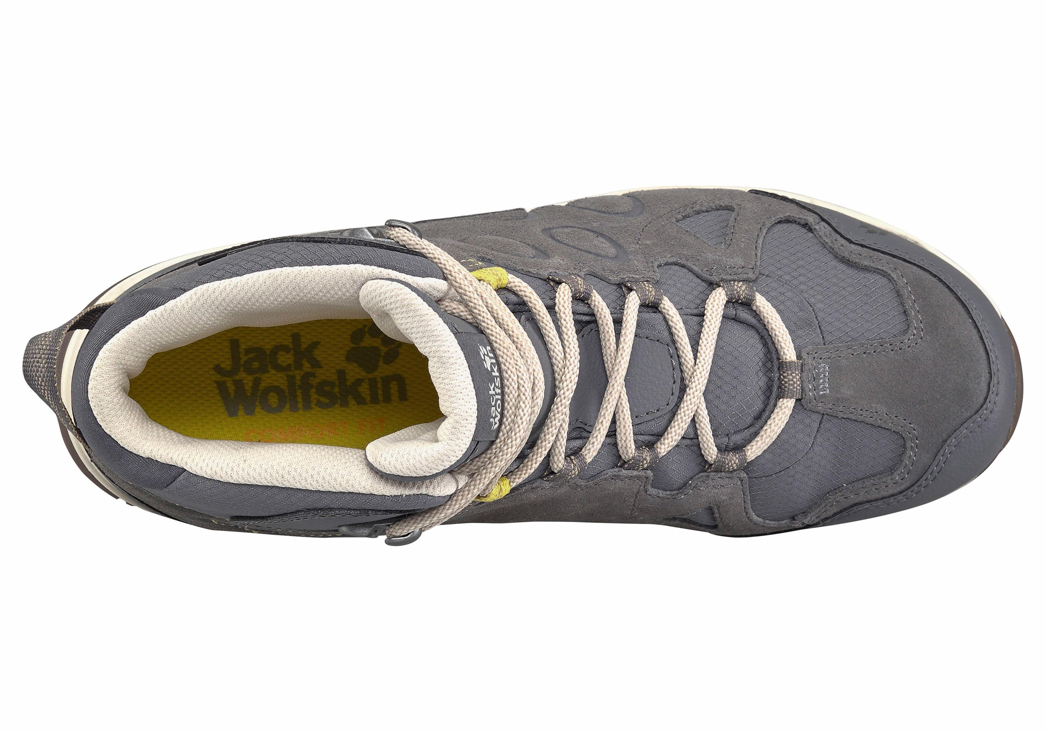 Jack Wolfskin Rocksand Texapore Mid W Outdoorschuh online kaufen  grau