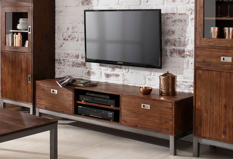 home affaire tv lowboard kenya breite 165 cm otto. Black Bedroom Furniture Sets. Home Design Ideas