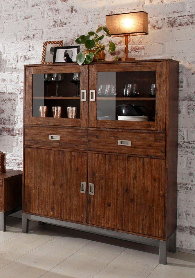 home affaire highboard kenya breite 106 cm otto. Black Bedroom Furniture Sets. Home Design Ideas