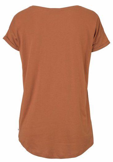 GREYSTONE Vokuhila-Shirt, überschnittene Schultern