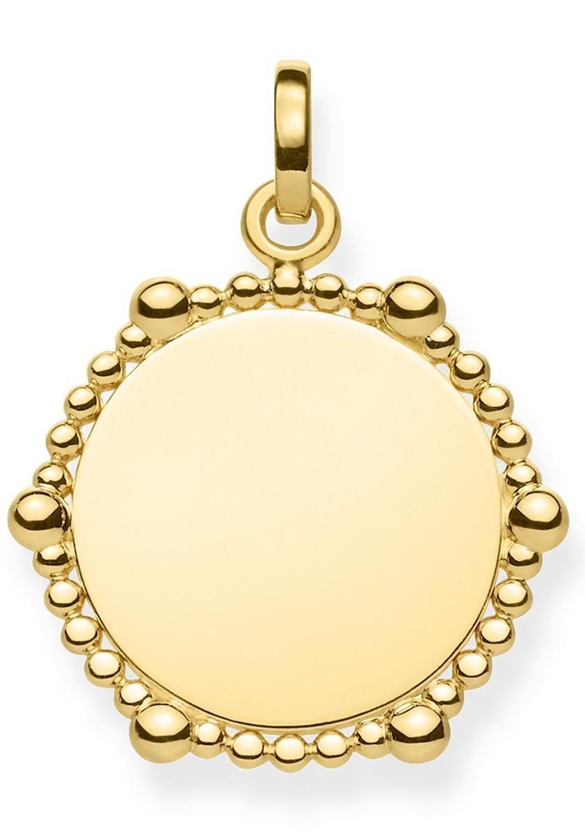 THOMAS SABO Kettenanhänger »Coin Dots, LBPE0018-413-39«