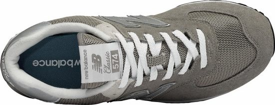 New Balance ML574 Grey Day Sneaker