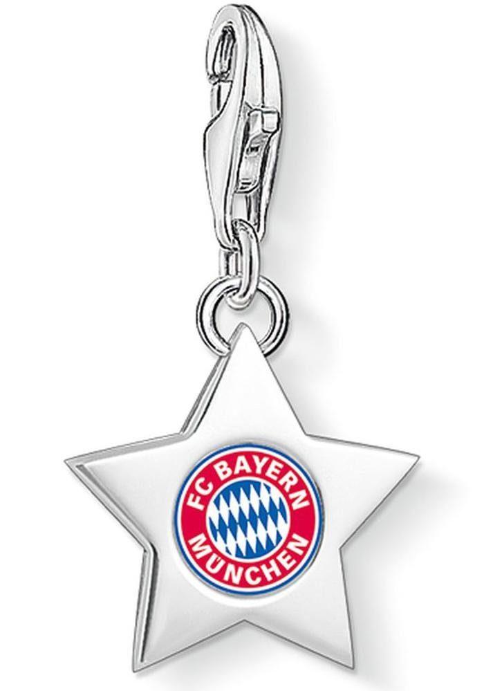 THOMAS SABO Charm-Einhänger »FC Bayern Stern, FCB_0033-007-7«
