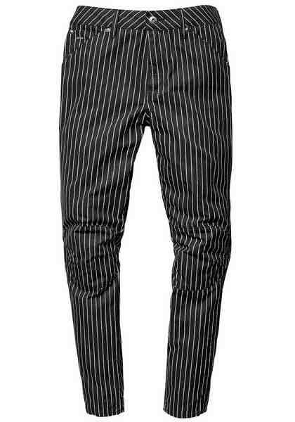 G-Star Boyfriend-Jeans »Elwood 5622 3D, mid boyfried COJ«, im Streifen-Look
